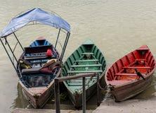 湖尼泊尔phewa pokhara 库存照片