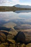 湖山挪威 免版税库存图片
