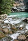 湖山河 库存图片