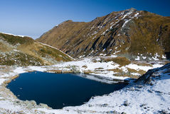 湖山罗马尼亚 免版税库存图片