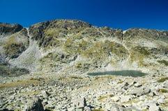 湖山 库存图片