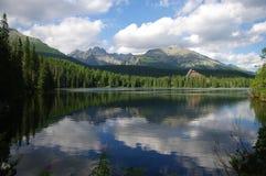 湖山 图库摄影