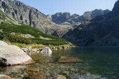 湖峰顶 免版税图库摄影