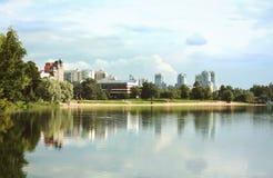 湖彼得斯堡st 免版税库存照片