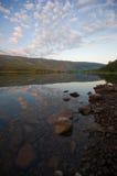 湖挪威 免版税图库摄影