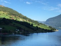 湖挪威 库存图片