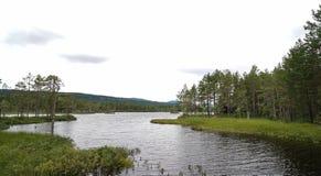 湖挪威 免版税库存照片