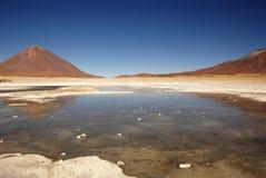 湖撒拉尔 免版税图库摄影