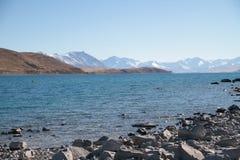 湖新的tekapo西兰 图库摄影