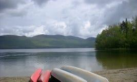 湖时间 库存图片