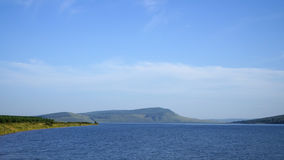 湖是大的 免版税图库摄影