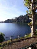 湖是非常美丽的 库存照片
