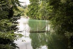 湖本质上 库存照片