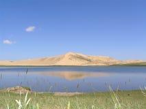 湖本质pratas青海预留 免版税库存图片