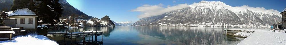 湖横向 库存图片