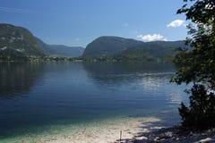 湖横向 库存照片