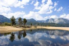 湖横向tahoe 库存照片