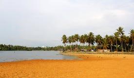 湖横向veli 图库摄影