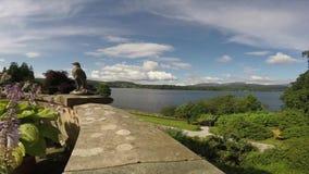 湖水风景风景 影视素材