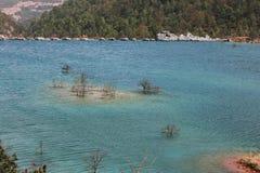 湖水 库存照片