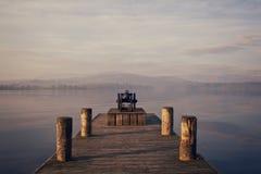 湖温德米尔 免版税库存照片