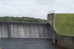 湖溢洪道在俄亥俄 免版税库存图片