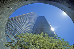 湖点塔公寓,芝加哥,伊利诺伊 免版税库存图片
