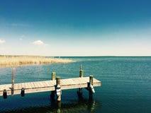 湖生活 免版税图库摄影