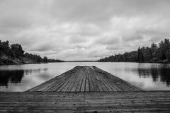 湖生活 库存图片