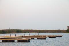从湖的宁静 免版税库存照片