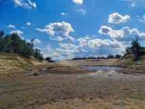 湖的热 库存图片