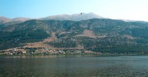 湖的风景 库存图片