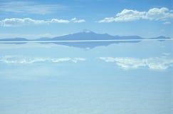 湖盐 库存图片