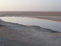 湖盐 库存照片