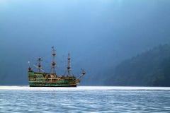 湖箱根,日本的储蓄图象 免版税图库摄影