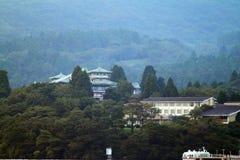 湖箱根,日本的储蓄图象 免版税库存图片
