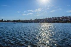 湖米申维耶霍 库存图片