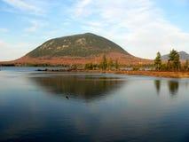 湖缅因 库存图片