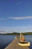 湖苏格兰视图 库存照片