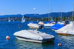 湖苏黎世在瑞士 图库摄影