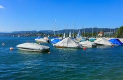 湖苏黎世在瑞士 免版税图库摄影