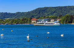 湖苏黎世在瑞士 免版税库存图片