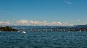 湖苏黎世 免版税图库摄影