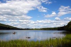 湖蝗虫公园状态 图库摄影