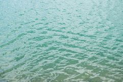 湖表面纹理 免版税图库摄影