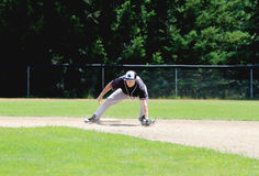 湖西南分部棒球土地  免版税库存图片