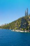 湖西方岸的tahoe 免版税库存图片