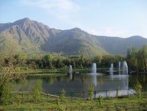 湖谷 库存图片