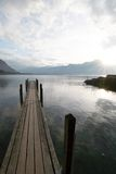 湖路径 免版税图库摄影
