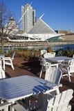 湖边平地密尔沃基餐馆 免版税图库摄影